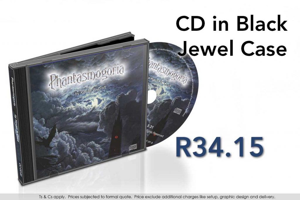 CD, printed and duplicated, with paper inlays, in black jewel case.