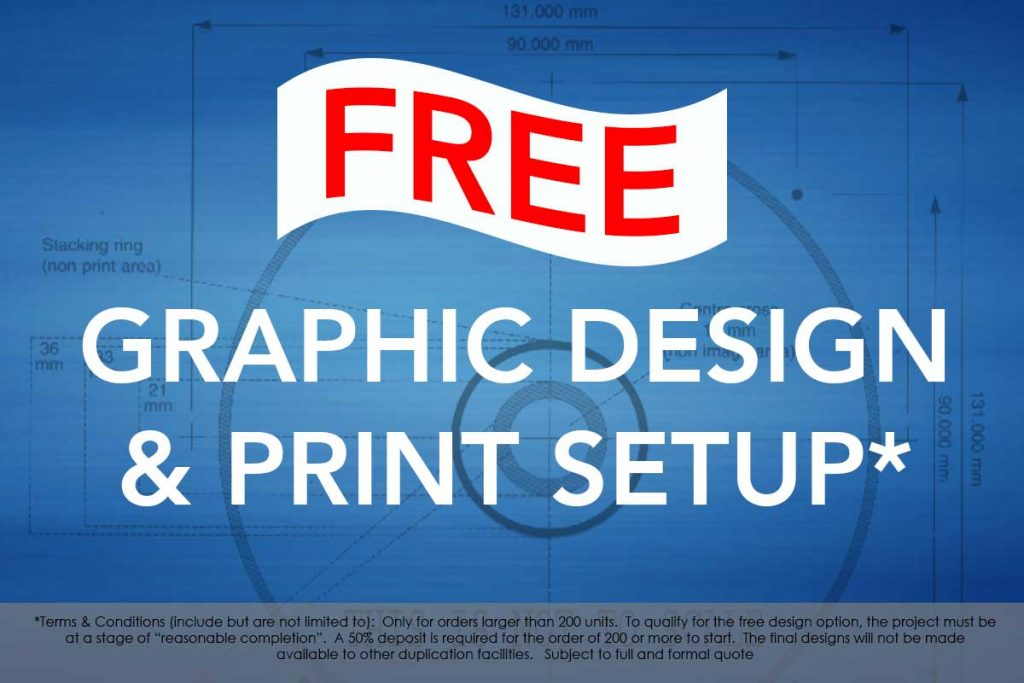 Free Graphic design. Terms and conditions apply.